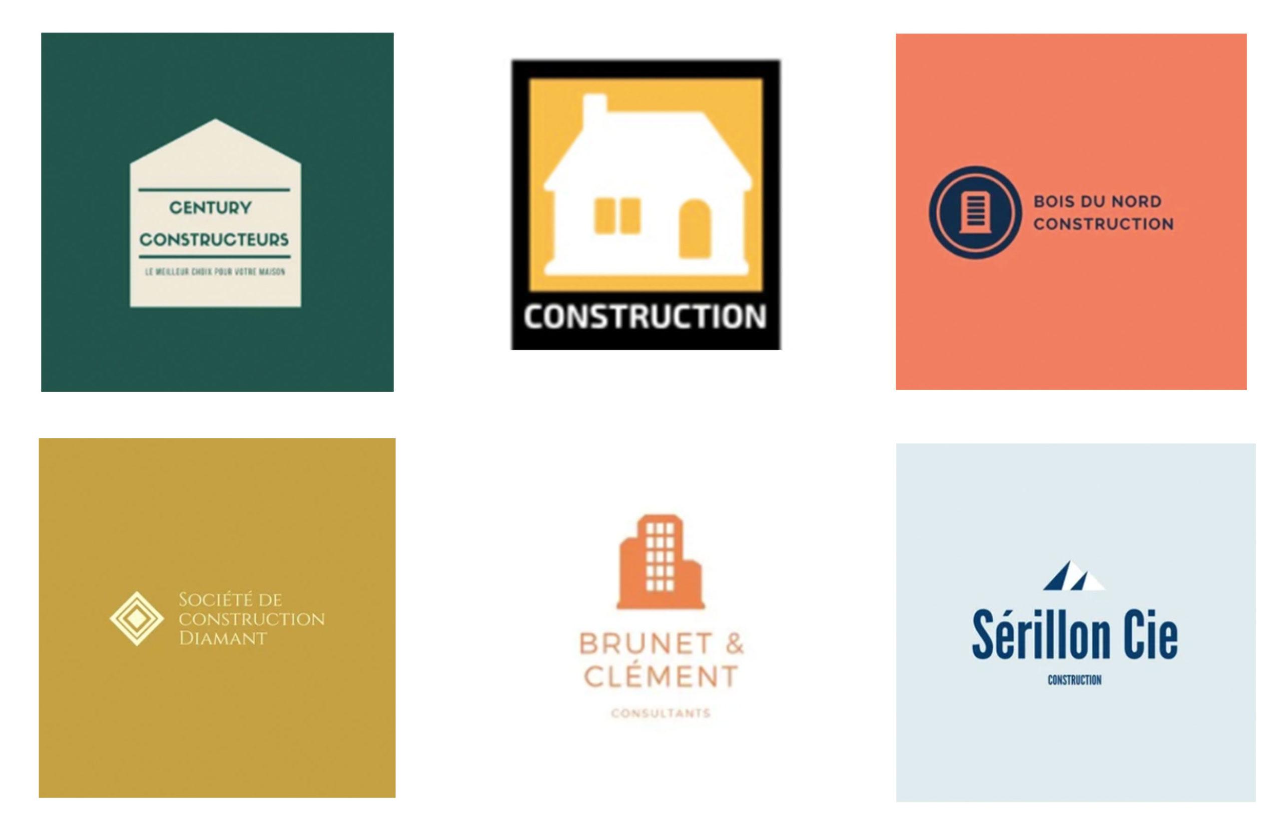 Meilleurs logos du bâtiment