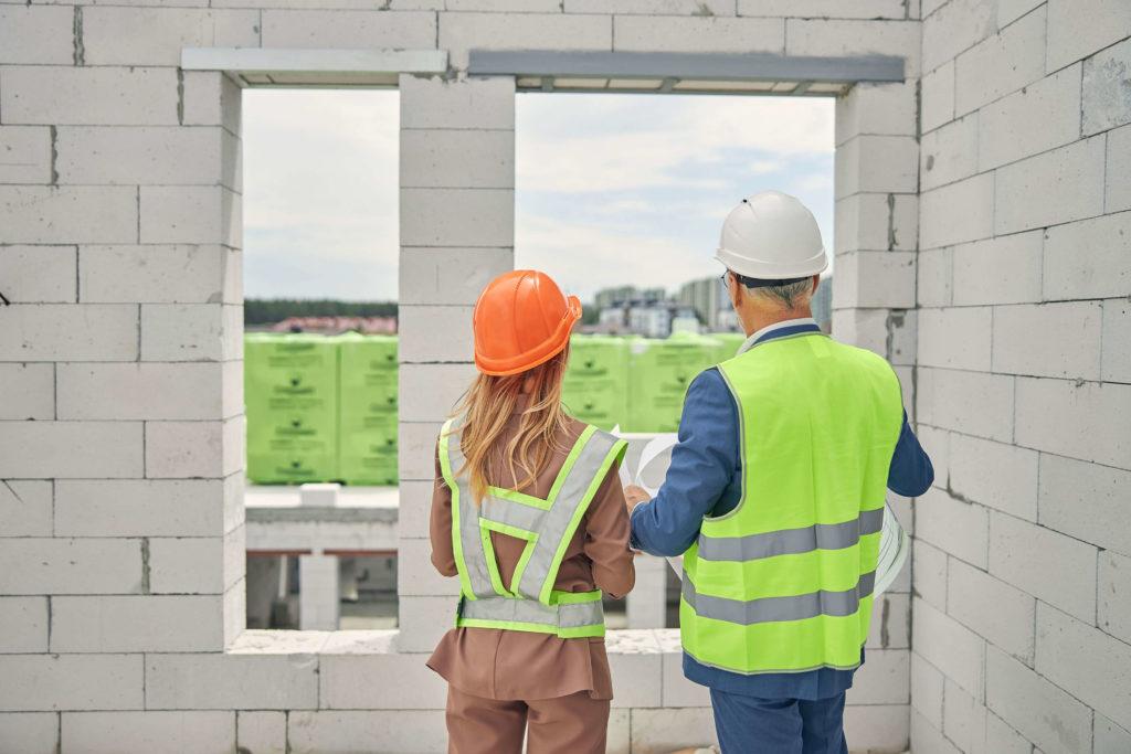 visite et réunion de chantier