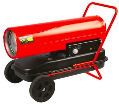 canon à air chaud