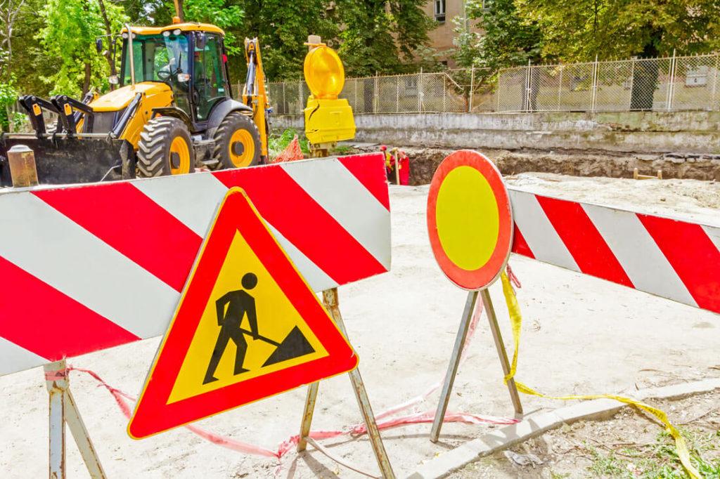 équipements de sécurité sur chantier
