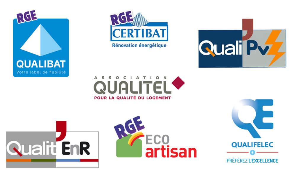 les certifications RGE