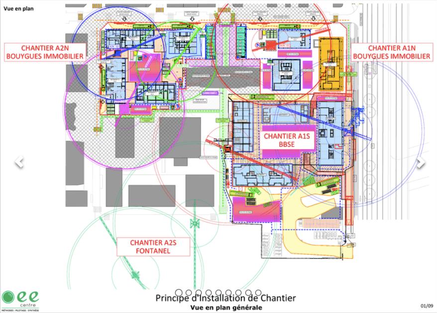 exemple de plan d'installation de chantier