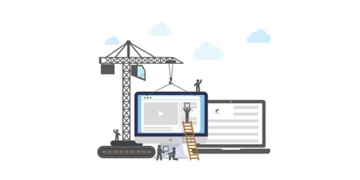 site internet dans le bâtiment